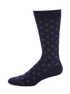 Darsham Diamond Clustered Socks