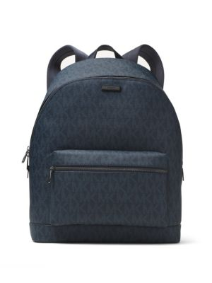 michael kors male jet set textured logo backpack