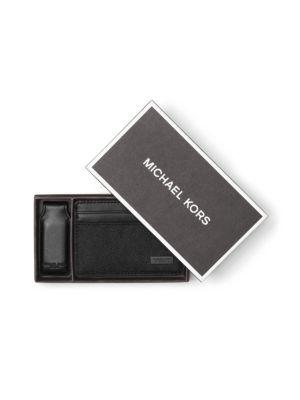 michael kors male moneyclip card case