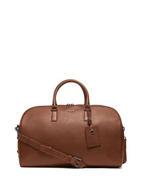 michael kors male bryant large leather duffel bag