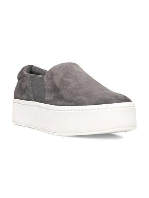 Warren Suede Platform Skate Sneakers