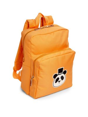 Panda Applique Recycled Polyester Backpack