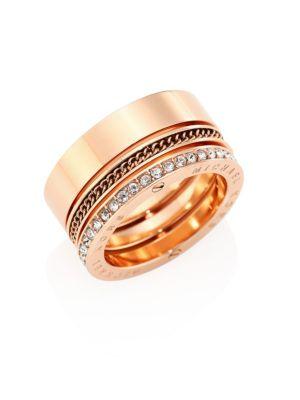Brilliance Pavé Barrel Ring