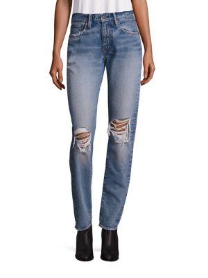 Jeanși de damă LEVIS 505 Distressed