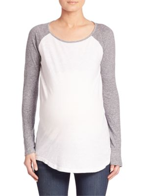 Maternity Long Sleeve Tee plus size,  plus size fashion plus size appare