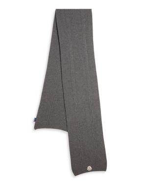 Textured Cashmere Scarf