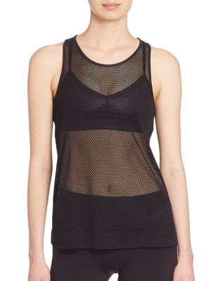 Lucid Mesh Tank Top plus size,  plus size fashion plus size appare