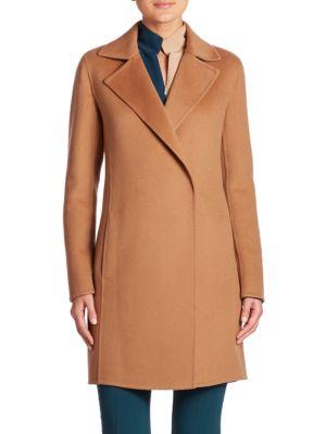 Reversible Double-Face Cashmere Coat