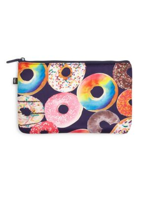 Donut-Print Pouch