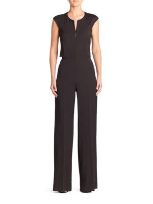 Stretch Silk Jumpsuit