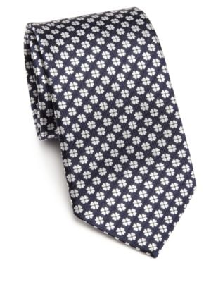 COLLECTION Patterned Silk Tie