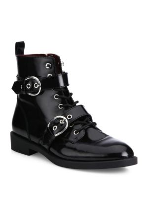 marc jacobs female 188971 taylor doublestrap leather booties