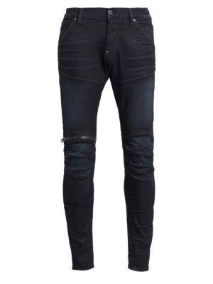 5620 3D Zip Knee Slim Fit Jeans
