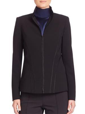 Sleek Tech Cloth Kat Jacket