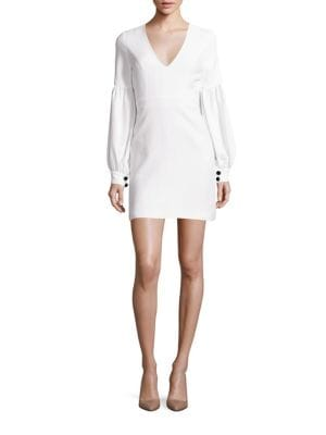 Ellena Blouson Sleeve Dress