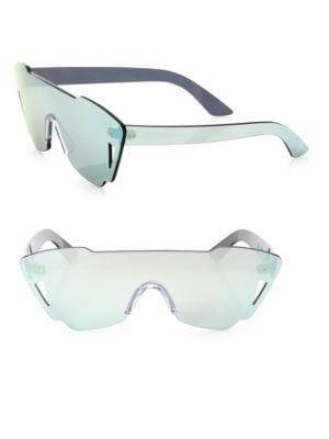 Tamara Mirrored Shield Sunglasses