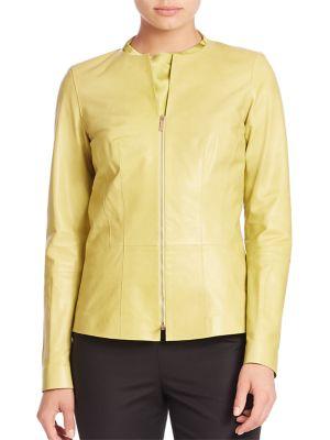 Jachetă de damă LAFAYETTE 148 NEW YORK Glazed Maris