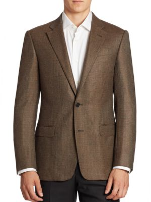 Virgin Wool & Cashmere Sportcoat