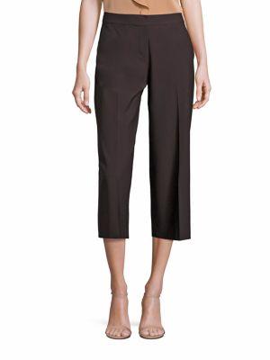 Cropped Wide Leg Pants plus size,  plus size fashion plus size appare