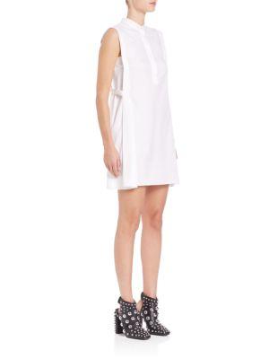 Cotton Twill Shirtdress