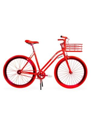 Step-Through Bike with Basket