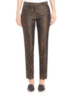 Printed Bernardier Trousers
