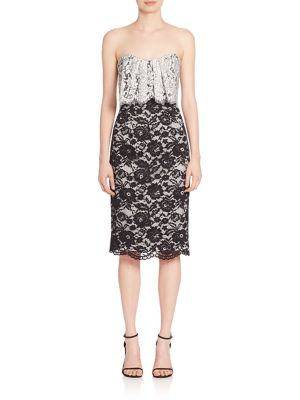 Endora Popover Lace Sheath Dress