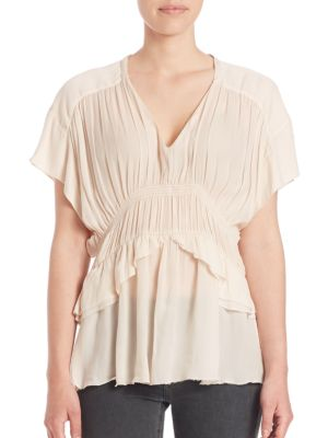 Giselle Ruched Blouse
