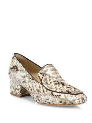 Norah Python Loafers