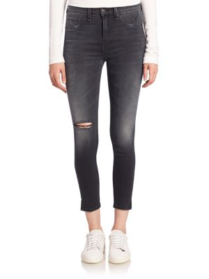 Jeanși de damă RAG & BONE / JEAN High Distressed