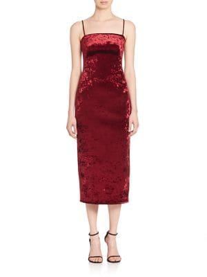 Constance Velvet Midi Dress