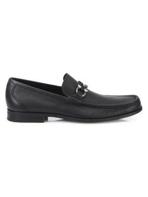 Grandioso Gancini Leather Loafers