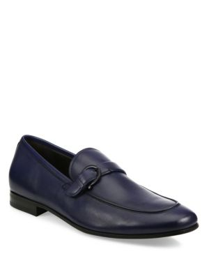 Faruk Leather Loafers