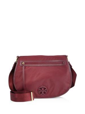 tory burch female  nylon messenger bag