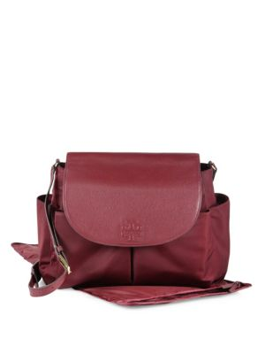 tory burch female  thea nylon messenger baby bag