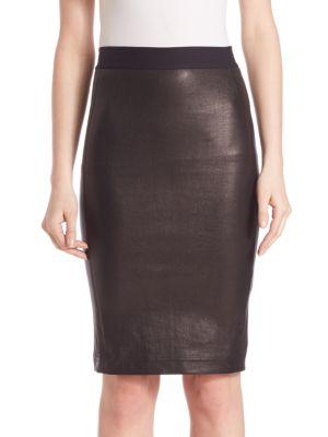 Leather Pencil Skirt plus size,  plus size fashion plus size appare