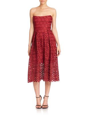 Spot Lace Ball Dress