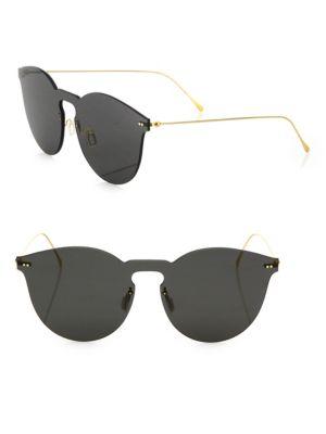 Leonard II Mask 50MM Round Sunglasses