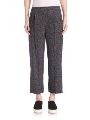 Cropped Wide-Leg Pants plus size,  plus size fashion plus size appare