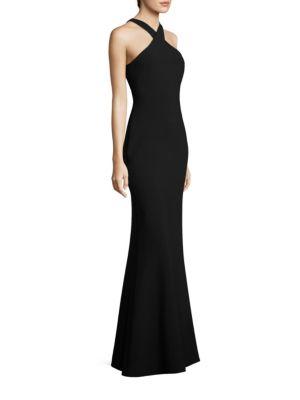 Kingsbury Halter Gown