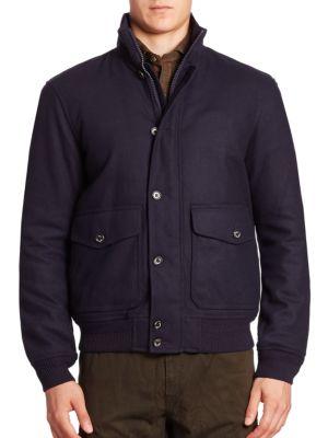 Stockport Wool-Blend Jacket