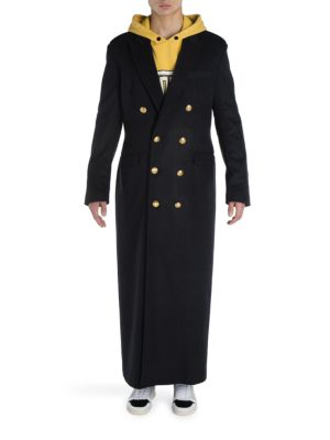 Double Breasted Long Coat plus size,  plus size fashion plus size appare