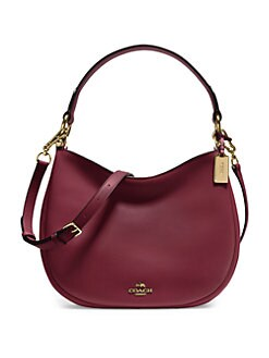 COACH - Nomad Leather Hobo Bag