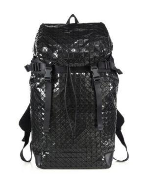 Geometric Paneled Hiker Backpack
