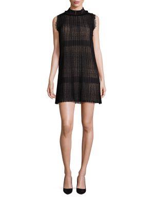 Becca Sleeveless Sheer Lace Dress