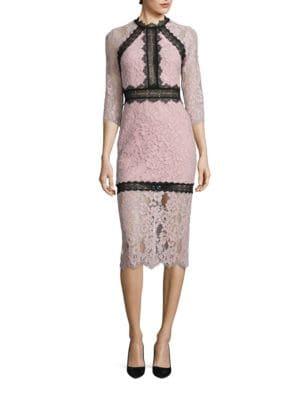 Marissa Lace Sheath Dress