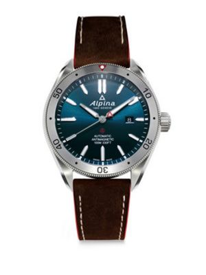 Sapphire Automatic Leather Watch