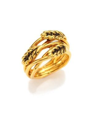 Wheat Ring/Goldtone