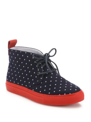Dotted Canvas Sneakers