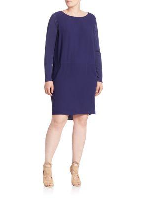 Silk Shift Dress plus size,  plus size fashion plus size appare
